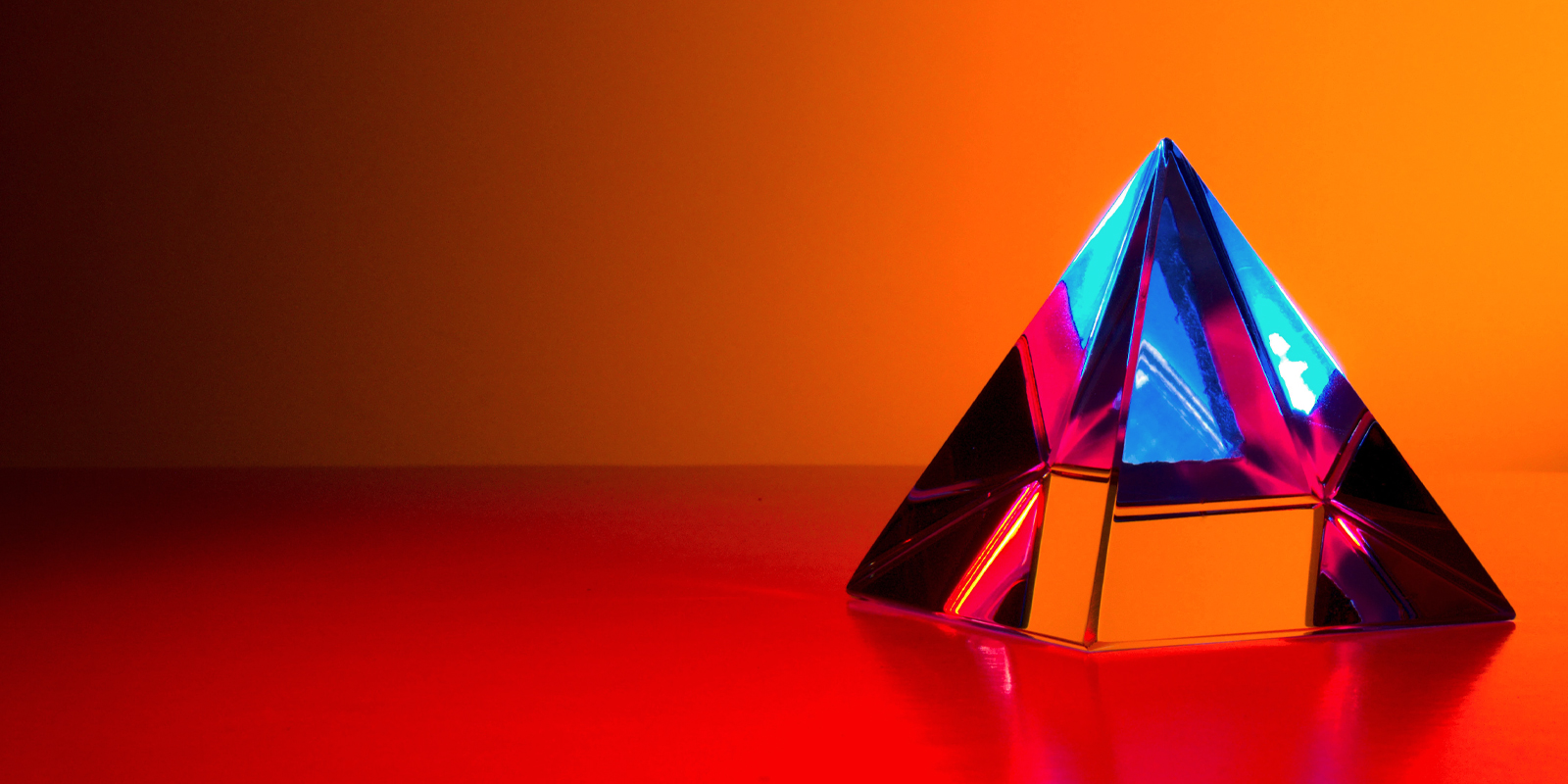An image of a pyramid